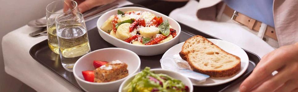 Qantas Fine Dining Experience