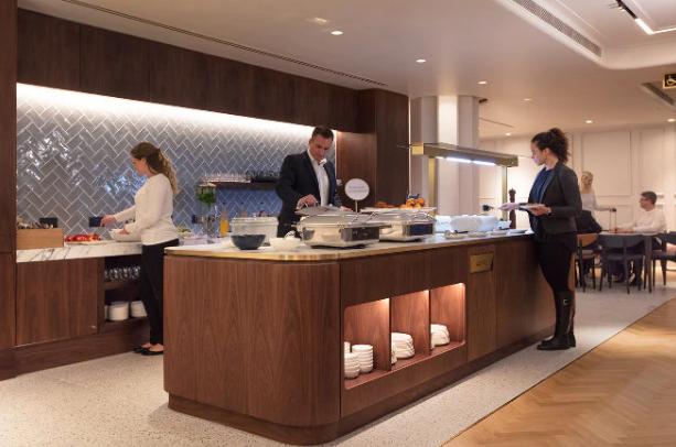 Qantas Lounge Premium Buffet