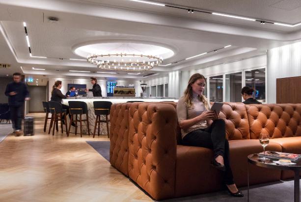 Qantas Lounge Seats