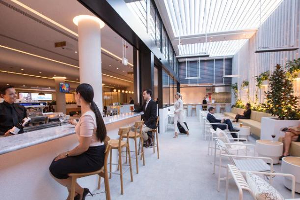 Qantas Transit Lounge