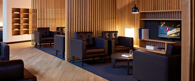 Swiss Air First Lounge