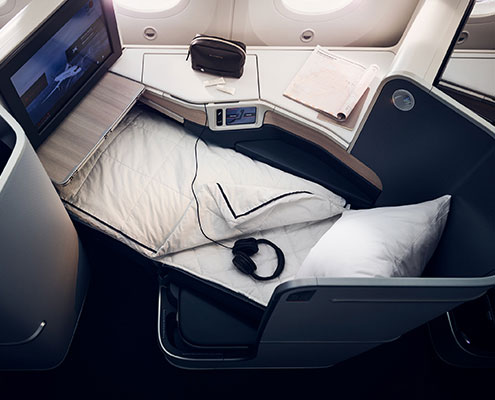 Business Class Full-Flat Bed
