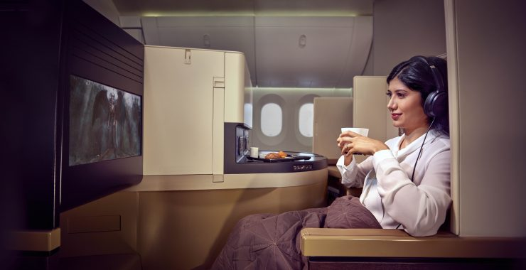 Etihad Business Class Studio
