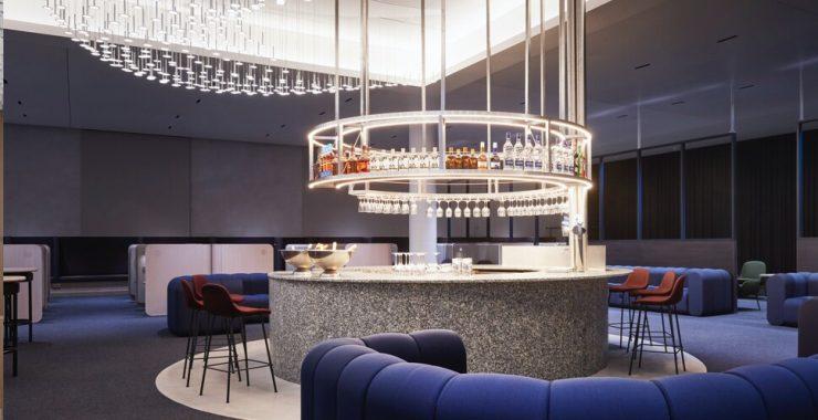 Finnair Business Lounge Bar