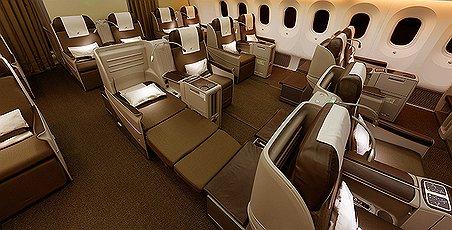 Royal Brunei Business Class Full-Flat Bed