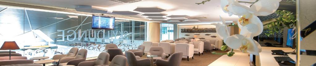 Royal Brunei Sky Lounge