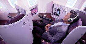 Thai Airways Business Class