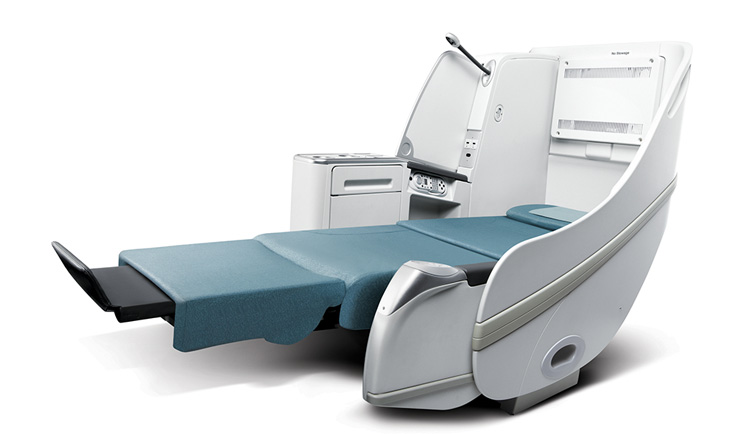 Korean Airlines Prestige Sleeper Business Class