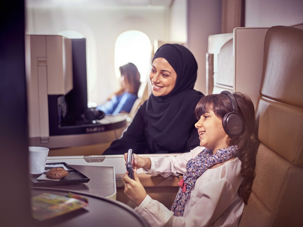 Business Class Studio on Etihad Airways