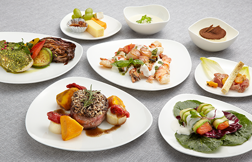 Asiana Airlines Business Smartium Class Dining