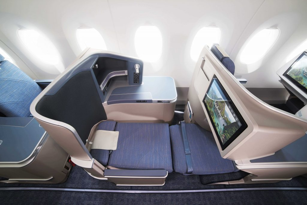 Business Class Bed on Philippines Airlines A330