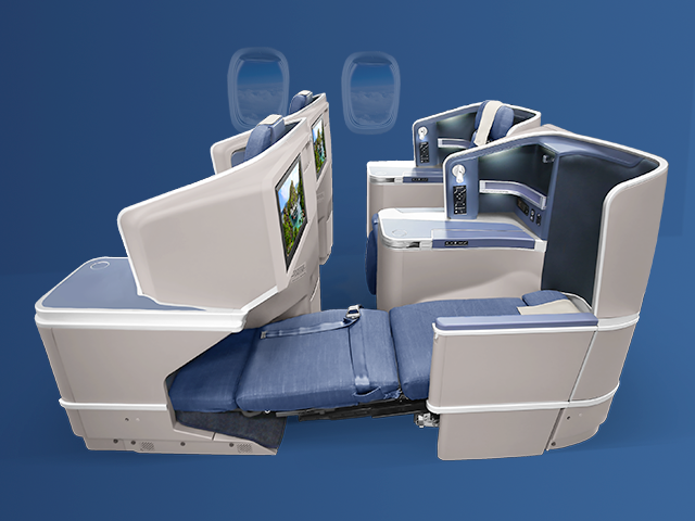 Philippines Airlines Business Class Seat