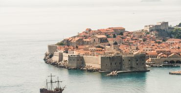 Dubrovnik port in daytime