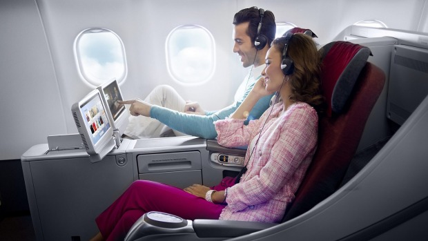Garuda Indonesia A330 Business Class